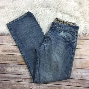 C7P Mens Jeans Crosby Relaxed Fit 30x31